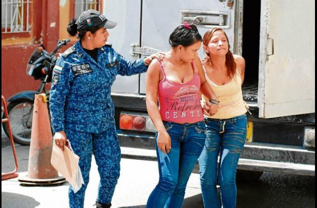 Leonor María Buelvas y Karina Eugenia Escobar Buelvas, capturadas