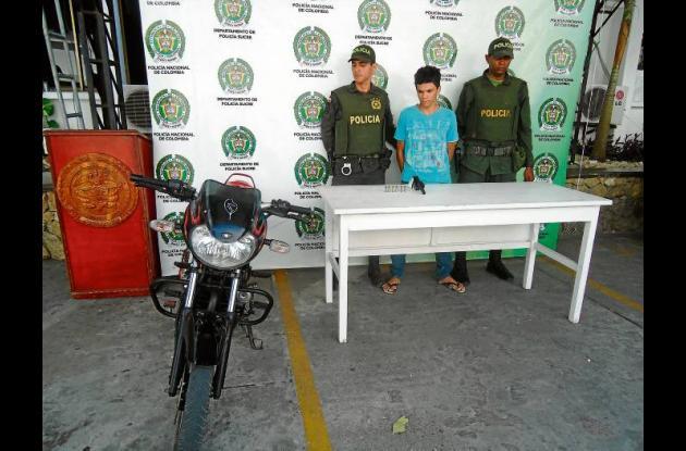A Leonardo Ozuna Zapata, igualmente se le inmovilizó la motocicleta