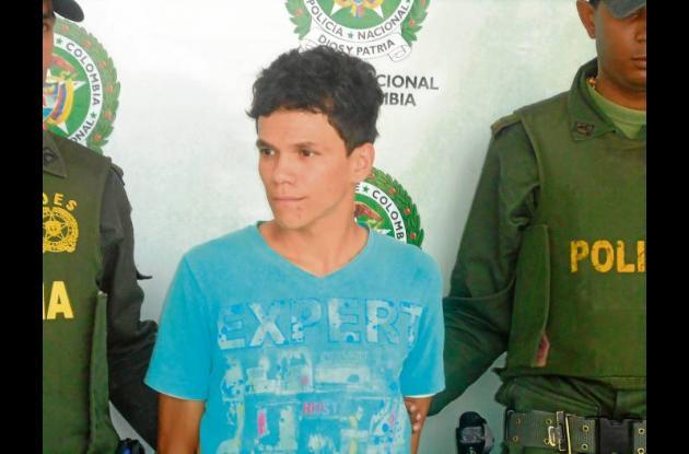 Leonardo Ozuna Zapata, capturado por porte ilegal de armas.