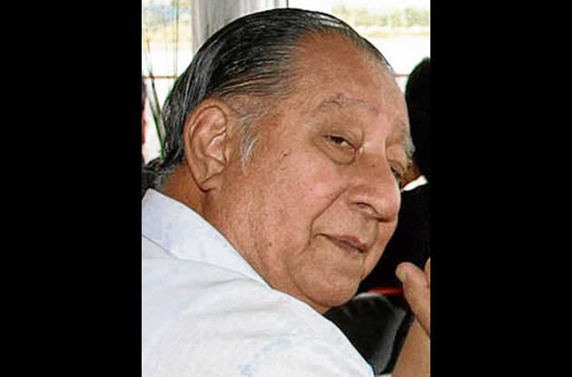 Carlos Cumplido Oviedo, fallecido.