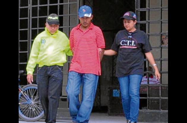 Juan Carlos Nisperuza Contreras, capturado por delito sexual.
