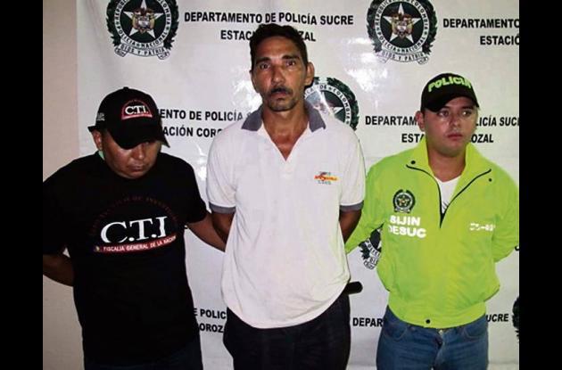 Fredy Antonio Quiroz Vergara, atrapado por violación de su hijastra.