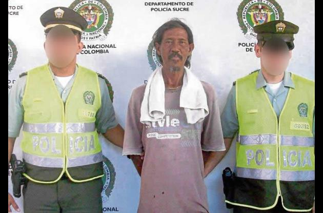 Ubaldo Enrique Peñate Orozco, capturado por tráfico de droga.
