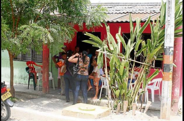 En esta vivienda del barrio Botero residía el joven zapatero asesinado.
