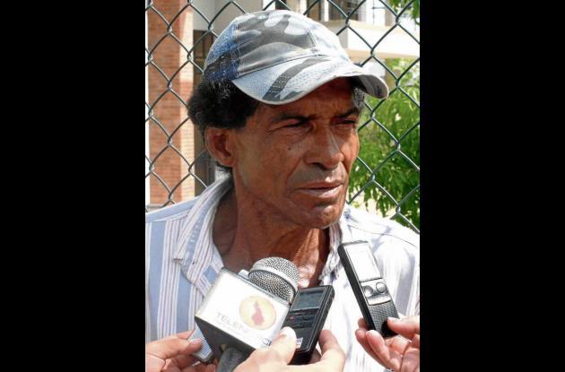 Jairo Antonio Gutiérrez Pertuz, padre militar asesinado.