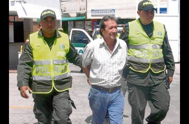 Jairo Suárez Eslava, capturado por narcotráfico