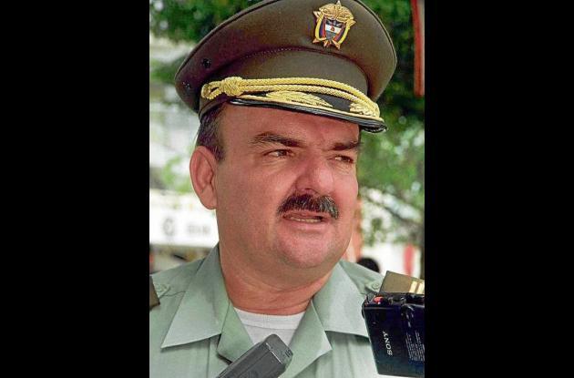 coronel en retiro Norman León Arango Franco