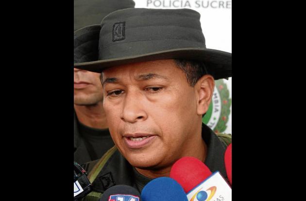 Coronel Orlando Polo Obispo, Comandante Policía Sucre.