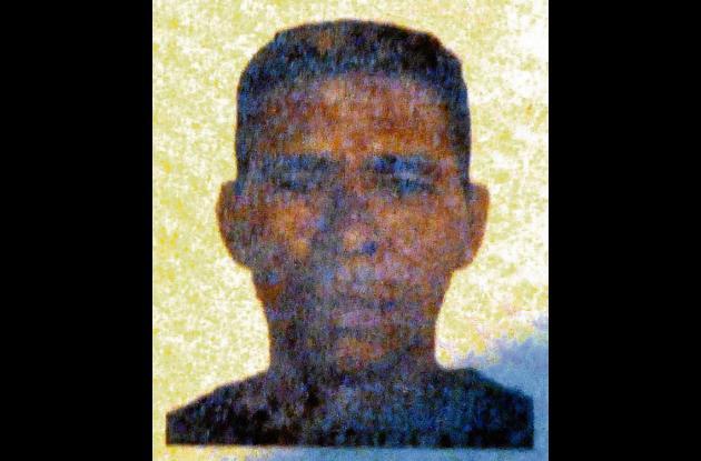 Jorge David Padilla de Aguas, asesinado.