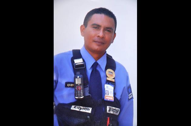 Omar Quintero Padilla, fallecido.