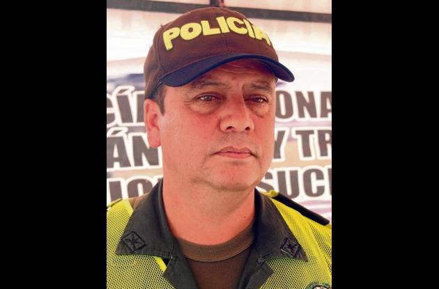 Intendente Jefe Humberto Calderón Pérez, Comandante (e) Polca Sucre.