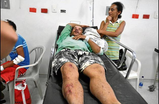 Riber Castillo Vergara, arrollado por una moto cuando iba en bicicleta.