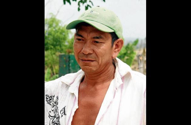 Óscar Pineda Blanco, hombre abandonado.