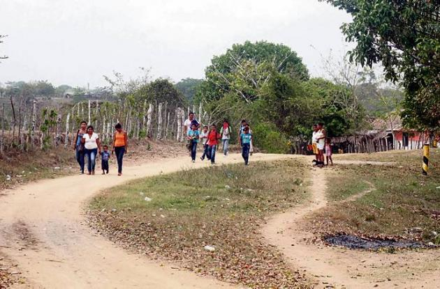 La comunidad indígena de Pan Señor estuvo convulsionada a raíz del caso