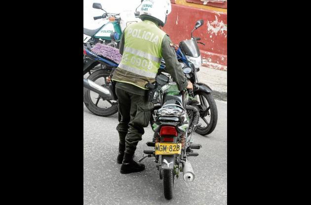 La moto en la que movilizaba el mototaxista implicado fue inmovilizada