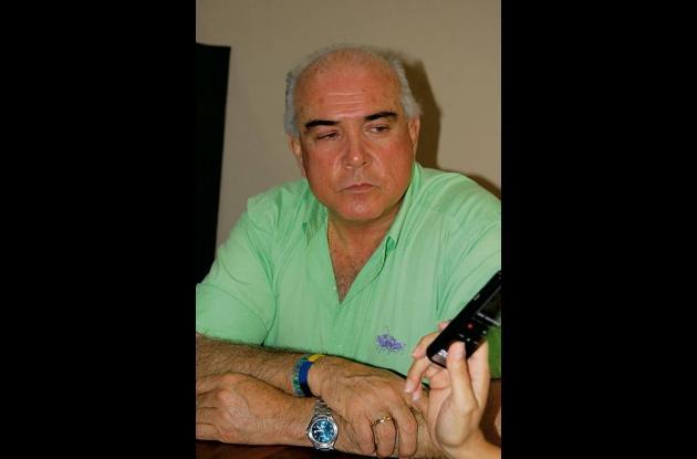 Jorge Visbal Martelo, exembajador en Perú, detenido por la Fiscalía.