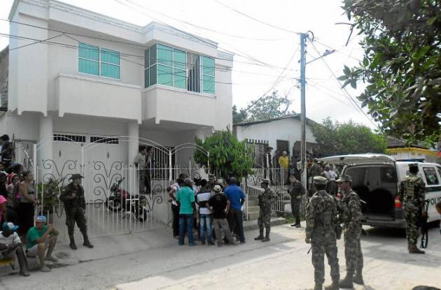 Katerine Monzón residía con sus dos hijas en el barrio El Caño.