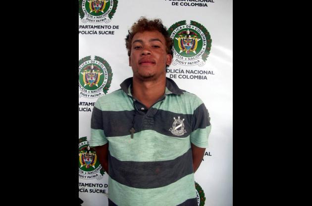 """Juan Carlos Cárdenas, alias """"El Nalgón"""", sindicado de hurto a un internet."""