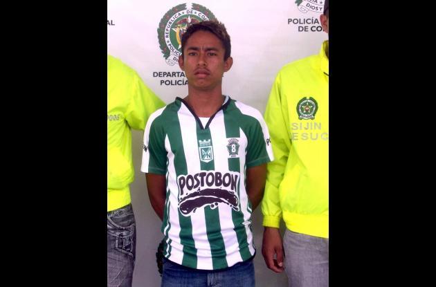 Roberto Ortega Román, sindicado de hurto.