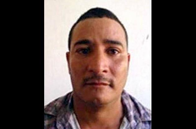 """David Enrique castro Aguas, alias """"El Cojo"""", capturado."""