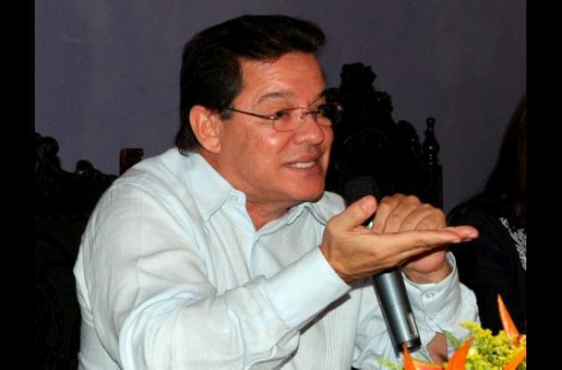 Joaco Berrío, ex gobernador de Bolívar.
