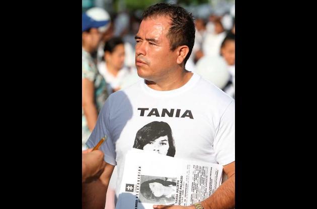 Ramón Rodríguez, papá de desaparecida.