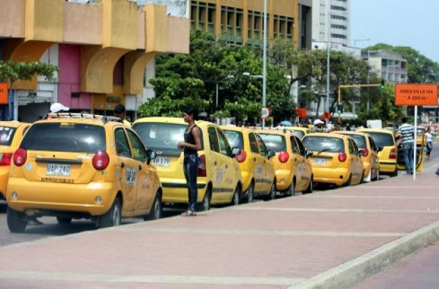 Fiscalia taxis en cartagena