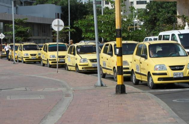 Pico y placa para taxis en Cartagena