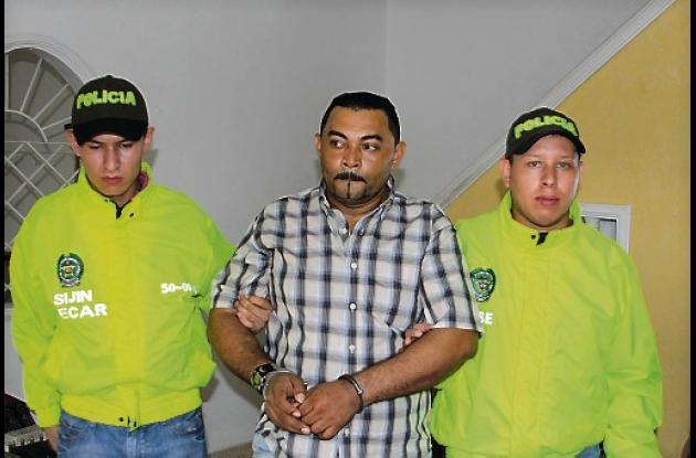 Julio César Peluffo Mariota, alias Taz Taz, fue retenido en su vivienda en el ba