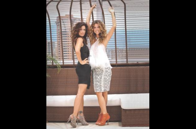 Juanita Acosta y Angie Cepeda