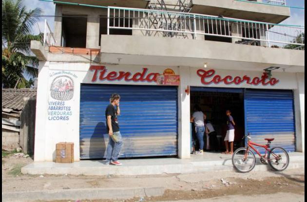 El tendero Alberto Otálvaro trabajaba en la tienda Cocoroto, en la calle 13 del