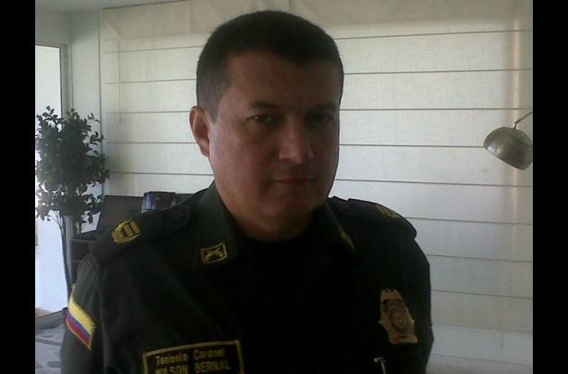 Teniente coronel Wilson Bernal