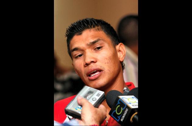 El futbolista colombiano Teófilo Gutiérrez.