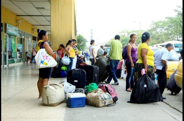 terminal de transportes cartagena viajeros pasajeros