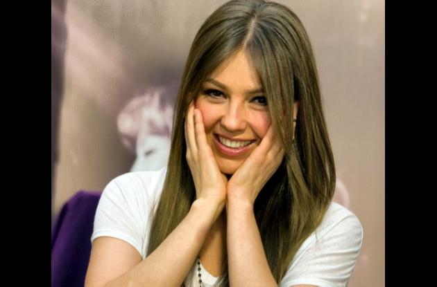Thalía, feliz con la llegada de su segundo hijo.