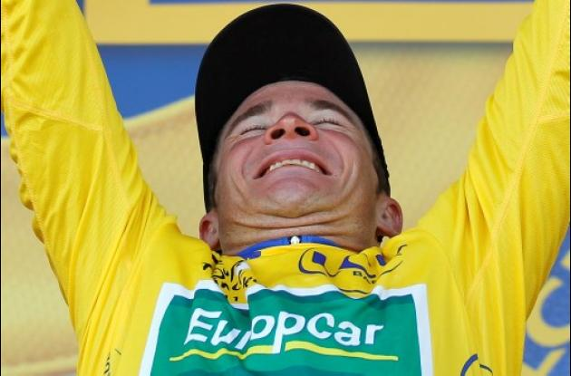 Thomas Voeckler, nuevo líder del Tour de Francia