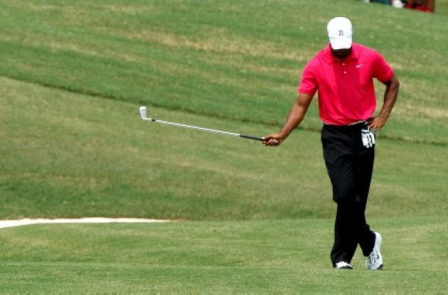 Tiger Wood no levanta cabeza. Hoy se desmoronó en PGA Championship