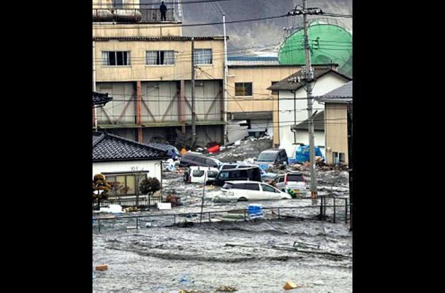 Terremoto y  tsunami en Japón.