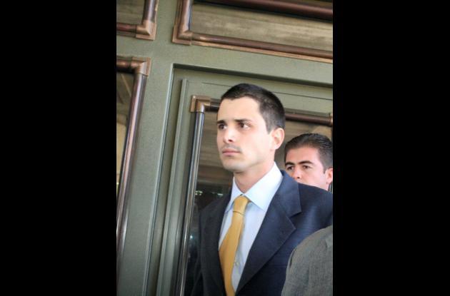Tomás Uribe, hijo del expresidente Álvaro Uribe.