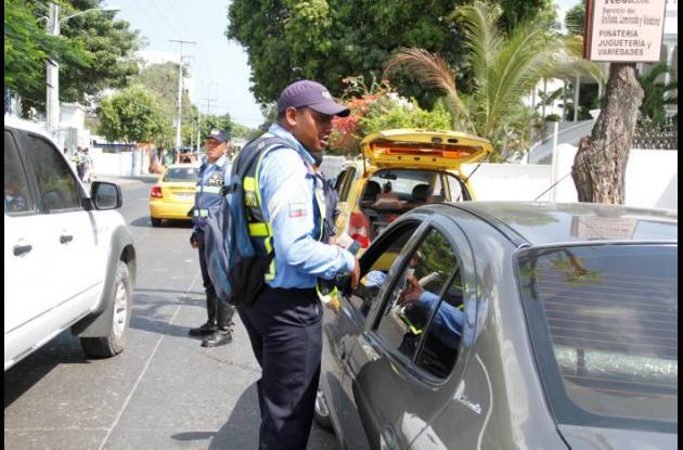 Controles de velocidad en vías de Cartagena