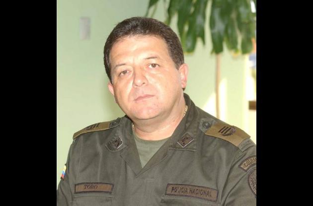 Jose Javier Toro ex comandante Policía de Bolívar