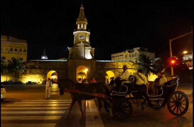 Torre del Reloj de Cartagena.