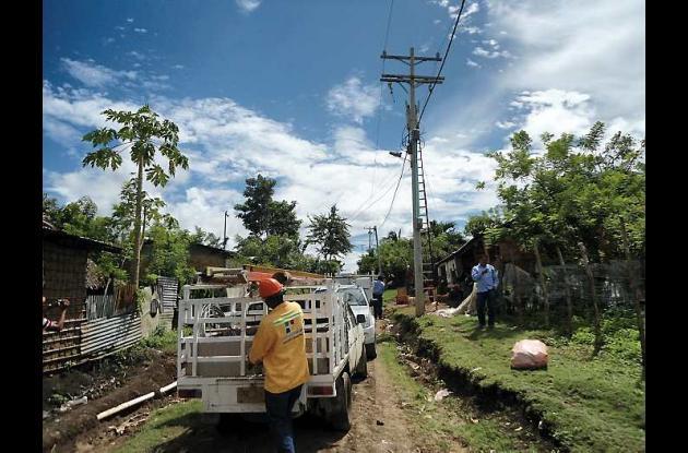 Después de un convenio de pago, Energía Social instaló transformador en La Paz.