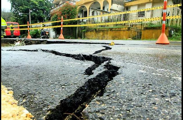 Se derrumba pequeño tramo de la Troncal, en Turbaco