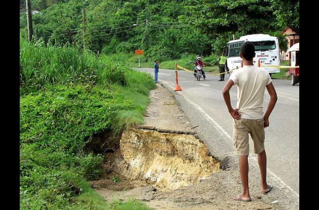 Cerrada otra vez la Troncal de Occidente en Bolívar