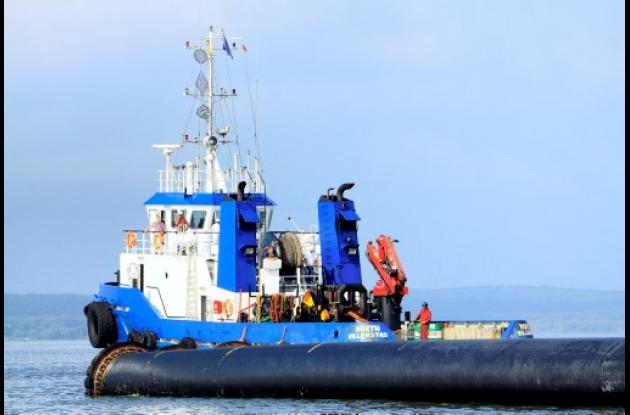 Tubería de Emisario Submarino.
