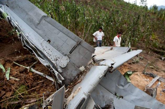 Accidente de Super Tucano