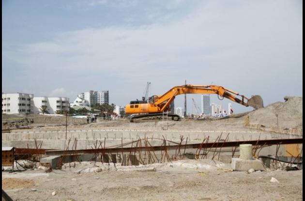 Avance de obras en el Túnel Vial de Crespo