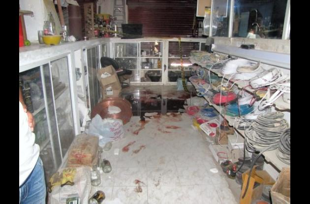 Turbaco asesinato policia
