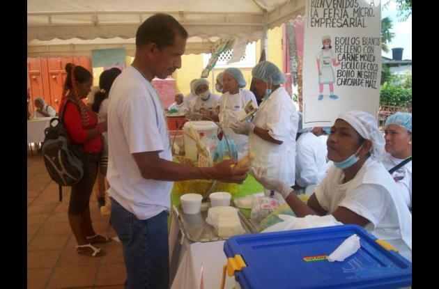Primera feria de los derivados del maíz y la leche en Turbana.